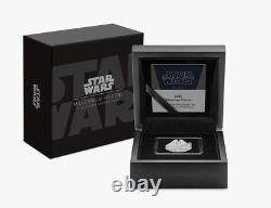NEW! 2021 Star Wars Millenium Falcon 1 oz. 999 silver shaped coin COA/OGP