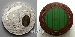 New Zealand- 2014 1 OZ Silver Proof Coin- Hobbit Coin Bag End