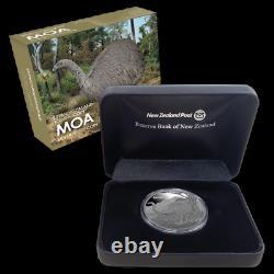 New Zealand 2018 1 OZ Silver Proof Coin Moa Coin