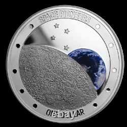 New Zealand 2019 1 oz Silver Proof Coin- Space Pioneers