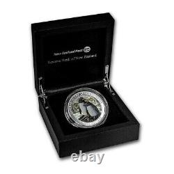 New Zealand 2020 2 OZ Silver Proof Coin Chatham Island Crested Penguin