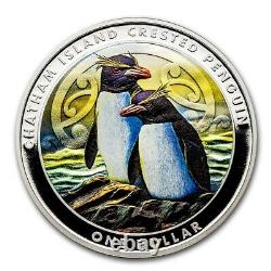 New Zealand -2020- Proof Currency Set- Chatham Island Crested Penguin