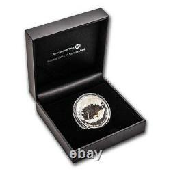 New Zealand 2021 1 OZ Silver Kiwi Proof Coin- Brown Kiwi Coin