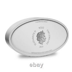 New Zealand 2021 1 Oz Silver Proof Coin- BATMAN Logo