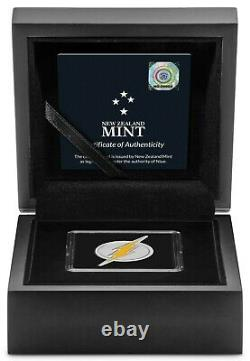 New Zealand 2021 1 Oz Silver Proof Coin- THE FLASH Emblem