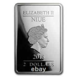 Niue -2018- 1 oz Silver Proof Coin- Star Wars The Phantom Menace Coin