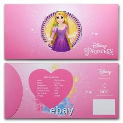Niue- 2018 Silver Disney Princess Six Silver Note Set (withAlbum)