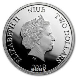Niue 2019 -1 OZ Silver Proof Coin- Disney Mickey Mouse Mickey