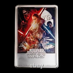 Niue -2019- 1 OZ Silver Proof Coin- Star Wars The Force Awakens