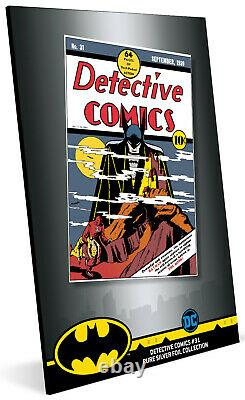 Niue- 2019- Silver Foil 35 grams Pure Silver- DC Comics Detective Comics #31