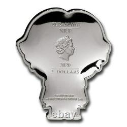 Niue 2020 1 Oz Silver Proof Coin Chibi Coin- RON WEASLEY Chibi