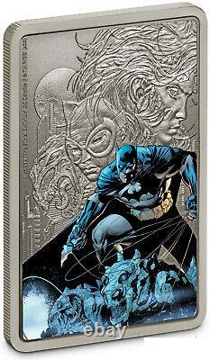 Niue 2020 1 oz Silver Proof Coin- Batman- THE CAPED CRUSADER BATMAN