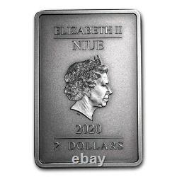 Niue 2020 1 oz Silver Proof Coin- Batman- The Caped Crusader VIXENS