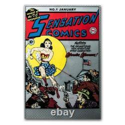 Niue 2020 Sensation Comics #1 Poster 35 grams Pure Silver Foil