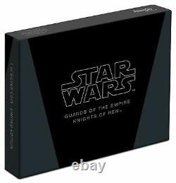 Niue 2021 1 OZ Silver Proof Star Wars Guards of the Empire Knights of Ren