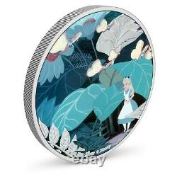 Niue 2021 1 Oz Silver Proof Coin Disney Alice in Wonderland Alice