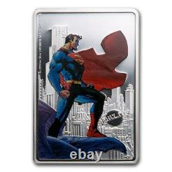 Niue 2021 1 oz Silver Proof Coin SUPERMAN The Man of Steel