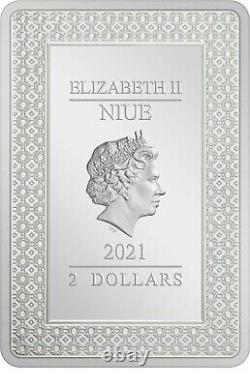Niue 2021 1 oz Silver Proof Coin- Tarot Cards The Magician