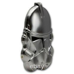 Niue 2021 Star Wars Clone Trooper Helmet Ultra High Relief 2 oz