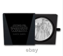 STAR WARS CLASSIC DARTH VADER 2016 NUIE 1 Kilo SILVER COIN $100 NGC 70 ER