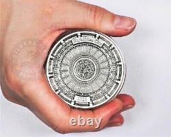 Solomon Islands 2020 Forbidden City Four Layer series $10 silver coin 3 oz