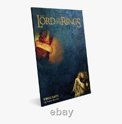THE LORD OF THE RINGS MIDDLE EARTH 35g PREMIUM SILVER FOIL CGC CERTIFIED 9.8 FR