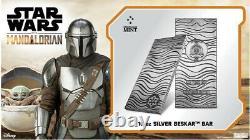 The Mandalorian Beskar Bar 10oz Silver