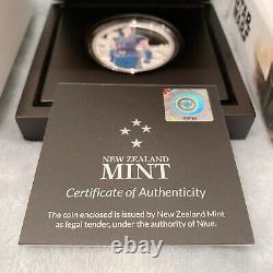 The Mandalorian Cara Dune 1oz Silver Coin New Zealand Mint