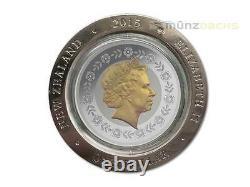 $1 Dollar Nz Longest Reigning Monarch Queen Elizabeth 1 Oz Argent Rotation 2015