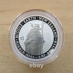 2012 Le Hobbit Un Voyage Inattendu Silver Proof Coin Set Nouvelle-zélande