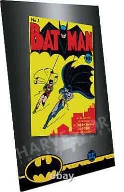 2018 DC Comics Batman #1 Premium Silver Foil 35 Grammes D'argent Pur