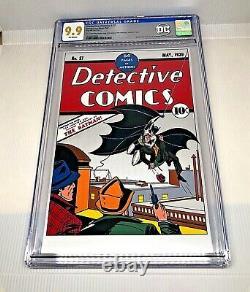 2018 DC Detective Comics #27 Cgc 9.9 Mint Silver Foil Batman 1ère Version First
