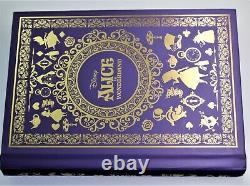 2018 Disney Alice Au Pays Des Merveilles. Ensemble De Pièces De 4-1 Oz En Argent 999 Avec Carnet Coa & Box