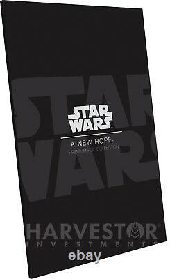2018 Star Wars A New Hope Premium Silver Foil Cgc 10 Gem Mint Première Version