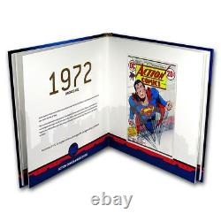 2018- Superman 80th Anniversary Silver Notes Ensemble Complet! Rare