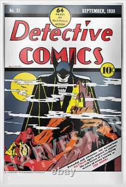 2019 DC Comics Detective Comics #31 Premium Silver Foil 35 Grammes D'argent