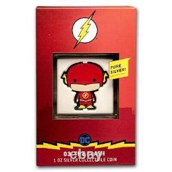 2020 1 Oz Silver Proof Chibi Coin DC Comics Le Flash Chibi