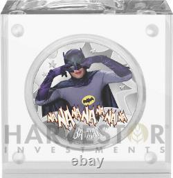2020 Batman 66 Émission De Télévision Batman Adam West 1 Oz. Pièce D'argent D'abord