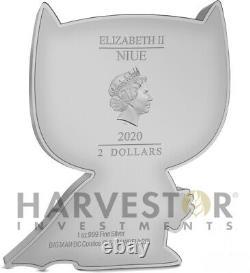 2020 Chibi Coin DC Comics Series Batman 1 Oz. Silver Coin Mintage 2 000