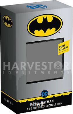 2020 Chibi Coin DC Comics Series Batman Silver Coin Ngc Pf70 Premières Sorties