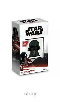 2020 Dark Vader 1 Oz Chibi Coin Star Wars Series