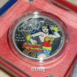 2020 Justice League 60e Anniversaire Wonder Woman 1oz Silver Coin Low Mintage