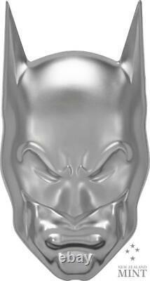 2020 Niue $5 Batman Masque 2oz Ultra High Relief. 999 Monnaie De Monnaie D'argent 5 000