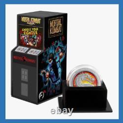 2020 Niue Mortal Kombat Arcade Design Box Coa 1 0z Argent Proof