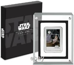 2020 Star Wars A New Hope Poster 1 Oz Pure Silver Coin Nz Mint Nue