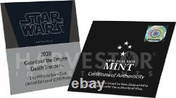 2020 Star Wars Guards Of The Empire Death Trooper 1 Oz. Argent Coin Ogp