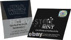 2020 Star Wars Guards Of The Empire Stormtrooper Ngc Ms70 Premières Sorties