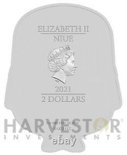 2021 Minion Coin Series Minion Bob 1 Oz. Pièce D'argent Ogp Coa Deuxième