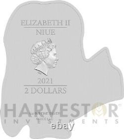 2021 Minion Coin Series Minion Stuart 1 Oz. Argent Pièce Ogp Coa D'abord