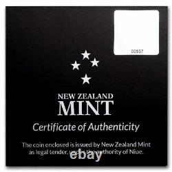 2021 Niue 1 Oz Argent $2 Star Wars Cara Dune (withbox & Coa) Sku#229932